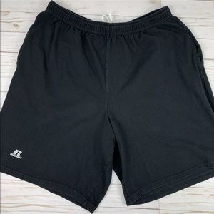 Russell Athletic Shorts Athletic Elastic Waist